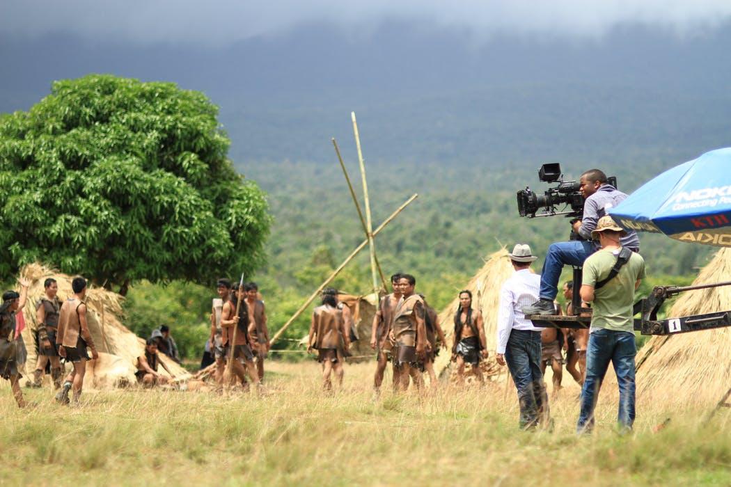 En storfilm kräver stora arbetsinsatser